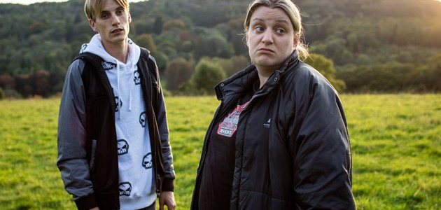 Programme Name: This Country - TX: n/a - Episode: n/a (No. n/a) - Picture Shows:  Kurtan (CHARLIE COOPER), Kerry (DAISY MAY COOPER) - (C) BBC - Photographer: Sophie Mutevelian