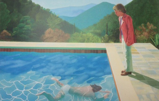 POOL HOCKNEY