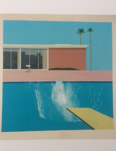 hockney splash